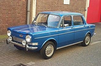 Simca 1000 - 1973 Simca 1000 GL