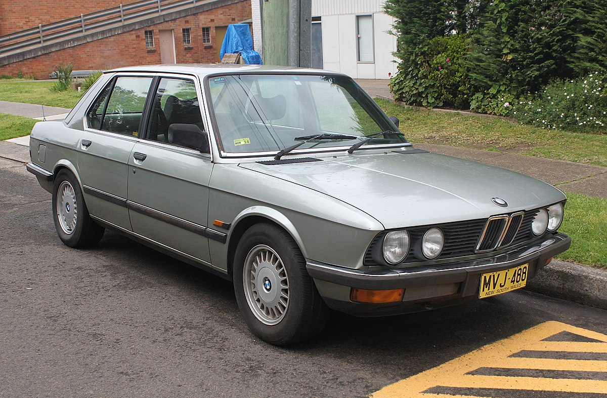 Bmw 5 Series E28 Wikipedia