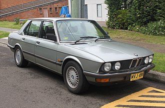 BMW 5 Series - E28 front
