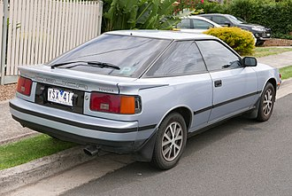 Hatchback - 1986 Toyota Celica with liftback