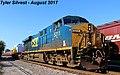 1 3 CSXT 5211 Leads WB Nuclear Train Olathe, KS 8-1-17 (36350867356).jpg