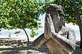 1 namaste greeting statue in Bali Indonesia.jpg