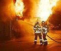 2000년대 초반 서울소방 소방공무원(소방관) 활동 사진 모든것을 집어 삼킨 불.jpg