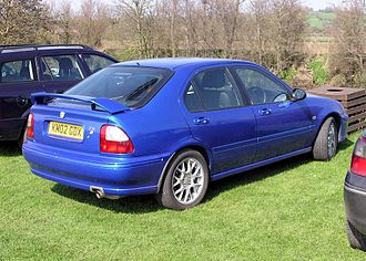 MG ZS - 2002 MG ZS 120 hatchback