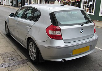 BMW 1 Series (E87) - E87 pre-facelift