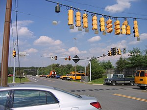 Maryland State Highway Administration - Signal testing at the Office of Traffic and Safety