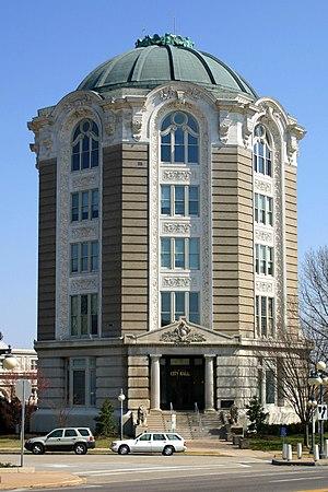 Edward Gardner Lewis - Woman's Magazine Building in University City, built 1903, now City Hall.