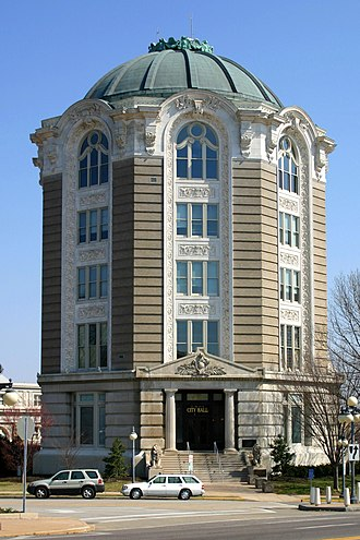 Edward Gardner Lewis - Woman's Magazine Building in University City, built 1903, now City Hall.