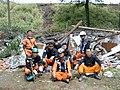 2008년 중앙119구조단 중국 쓰촨성 대지진 국제 출동(四川省 大地震, 사천성 대지진) SV400603.JPG