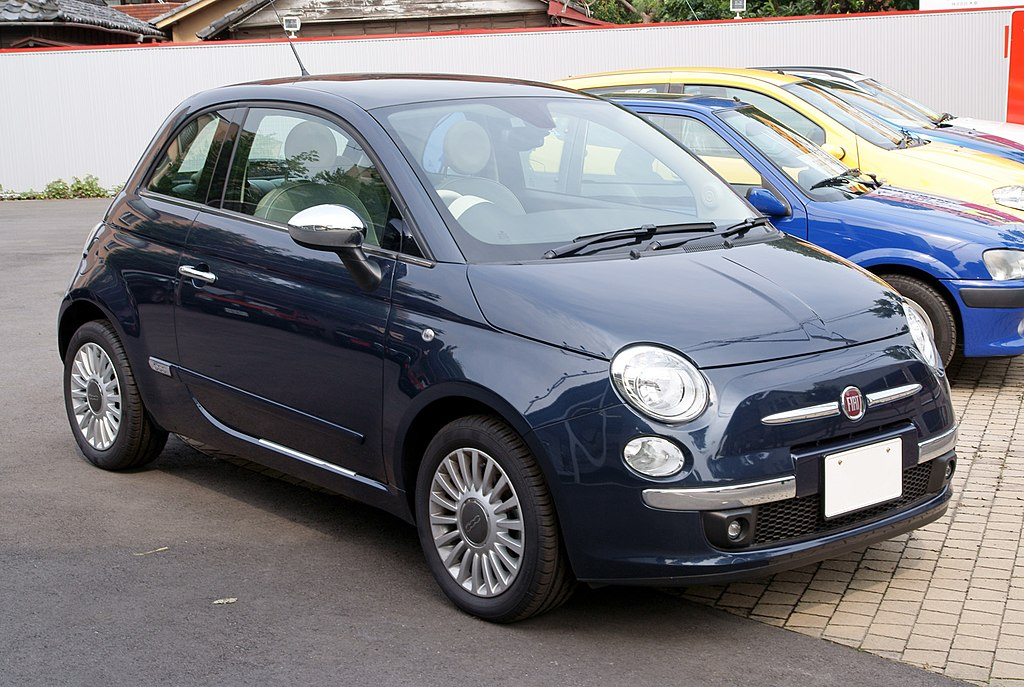 Fiat  Epic Blue Touch Up Paint