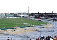 Lo Stadio Carlo Zecchini, sede delle gare casalinghe del Grosseto.