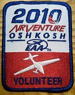 Distintivo dello show dato ai volontari