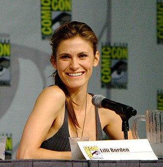 Lili Bordán - Bordán at San Diego Comic-Con International 2011