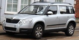 Škoda Yeti Motor vehicle