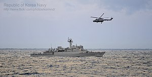 2012. 12. 해상전투단 기동훈련 Rep. of Korea Navy Surface Action Group Maneuver Exercises (8290692038).jpg