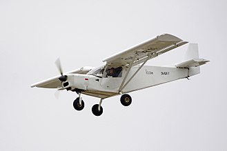 STOL - A Zenair CH 701 STOL light aircraft