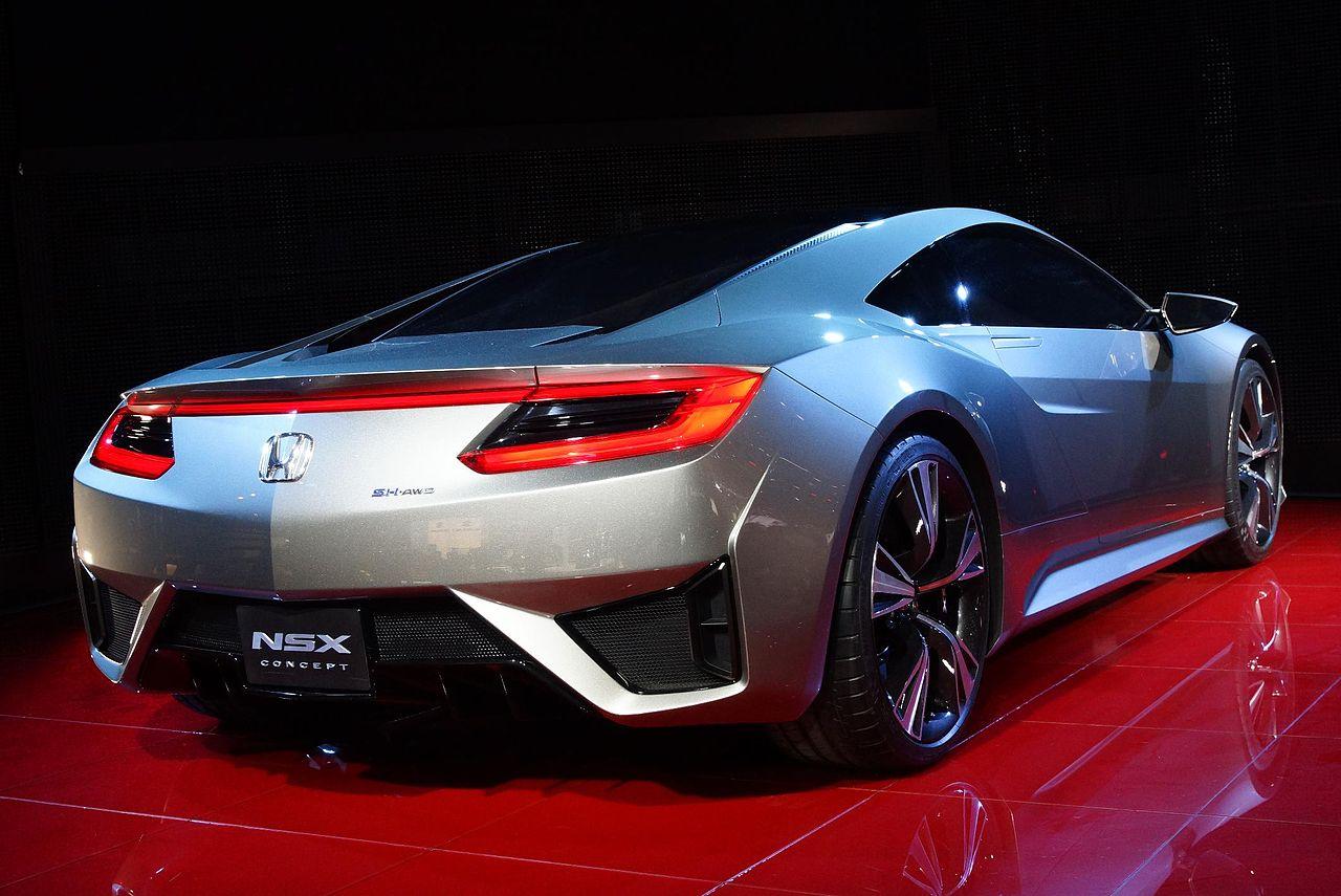 File:2012 Geneva Motor Show - Honda NSX Concept ...