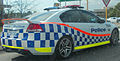 2012 Holden Commodore (VE II MY12) SV6 sedan, Western Australia Police (2014-10-02).jpg