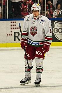 Viktor Lööv Swedish ice hockey player