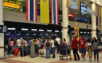 Phuket International Airport - Phuket Airport check-in area