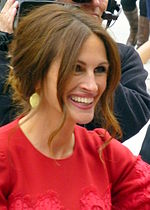Photo of Julia Roberts attending the 2013 Toronto International Film Festival.