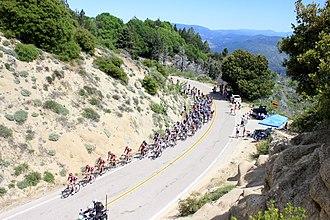 2013 Tour of California - Image: 2013 Tour of California Peloton