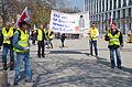 2014-03-29 Verdi-Höfe Goseriede am Klagesmarkt in Hannover, HAZ- und NP-Druckerei streitet für ihre Zukunft, ver.di Betriebsgruppe Madsack.jpg