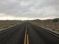 2014-07-28 14 45 52 View north along Nevada State Route 361 (Gabbs Valley Road) crossing from Nye County into Mineral County, Nevada.JPG