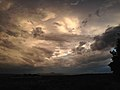 2014-08-12 19 38 07 Stormy, eerie sky near sunset in Elko, Nevada.JPG