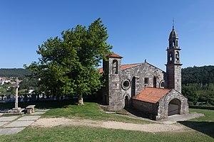 Church of San Xulián de Moraime - Church of San Julian de Moraime.