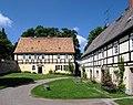 20140531105DR Fördergersdorf (Tharandt) Dorfkirche Pfarrhaus Pfarrgut.jpg
