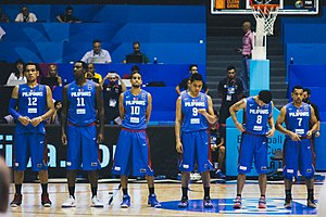 Gary David - Image: 2014 FIBA Basketball World Cup Croatia vs Philippines (2)