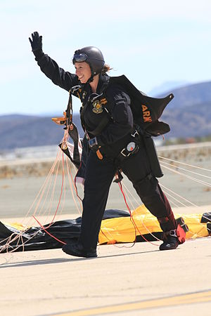 "Sherri Gallagher - Image: 2014 Miramar Air Show US Army Parachute Team ""The Golden Knights"" 141003 M PG109 122"