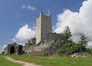 Anacopia Fortress - Image: 2014 Nowy Aton, Twierdza Anakopia (02)