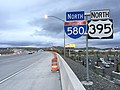 2015-11-01 16 54 30 Last reassurance signs along northbound Interstate 580 (and U.S. Route 395) in Reno, Nevada.jpg