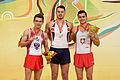 2015 European Artistic Gymnastics Championships - Pommel Horse - Medalists 14.jpg