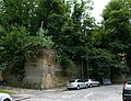 2015 London-Woolwich, Red Barracks wall 01.JPG