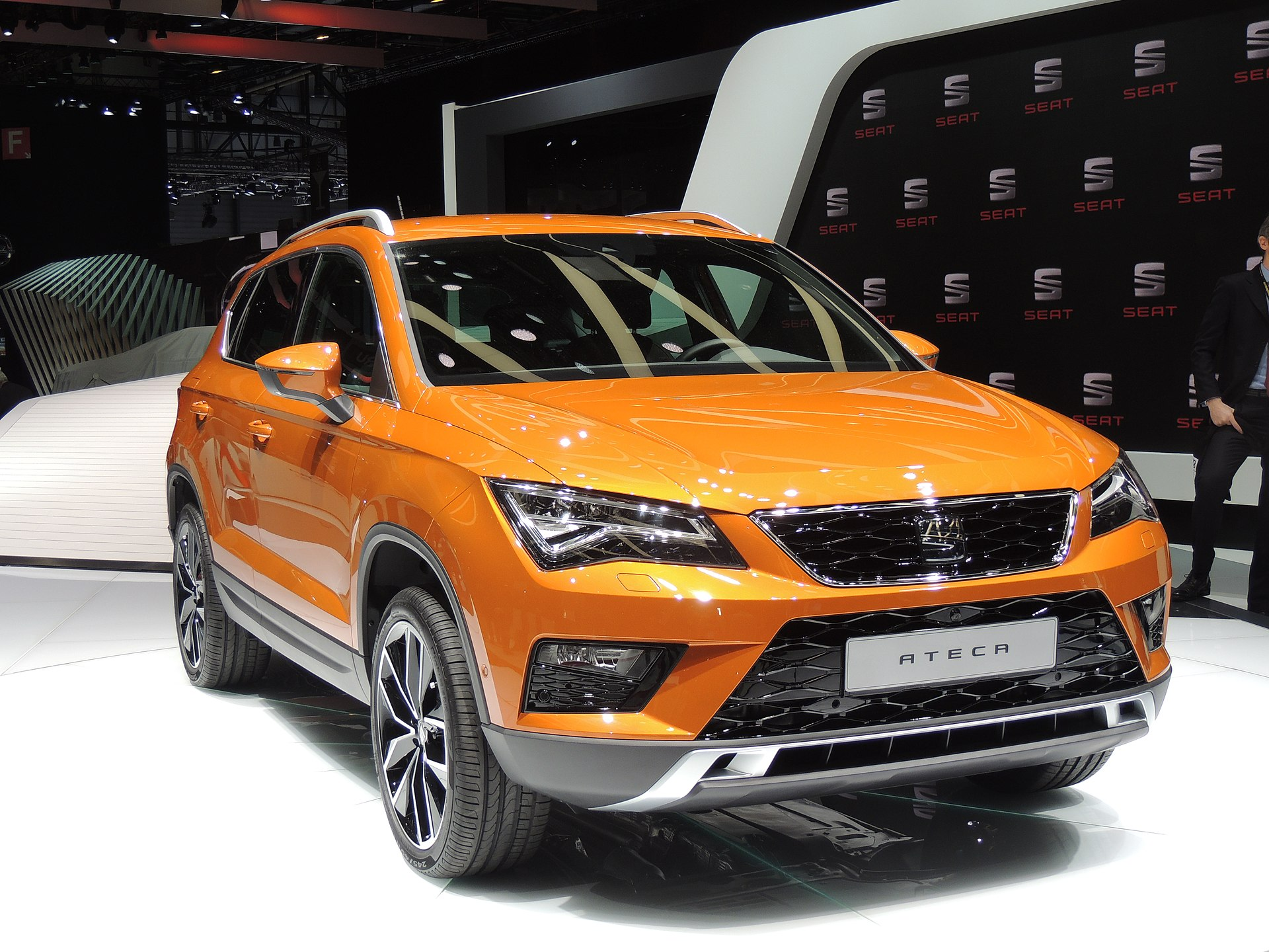 5 Door Car >> SEAT Ateca - Wikipedia