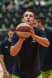Alen Omić Bosnian-born Slovenian basketball player