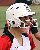One-ear flap MLB batting helmet, 2011