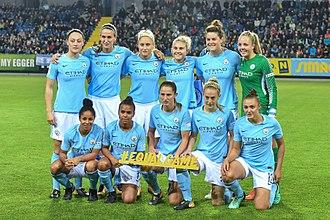 Manchester City W.F.C. - Image: 20171004 UWCL SKNMCW 6574