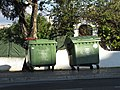 2018-01-08 Two dumpster bins on Avenida Infante Dom Henrique, Albufeira.JPG