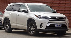 Toyota Highlander Wikipedia