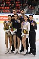 2019 Internationaux de France Saturday medals ice dance 8D9A8008.jpg