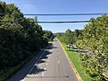 2020-08-18 11 25 36 View west along the eastbound lanes of Maryland State Route 704 (Martin Luther King Junior Highway) from the overpass for Maryland State Route 202 (Landover Road) in Landover, Prince George's County, Maryland.jpg
