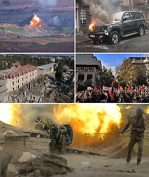 2020 Karabakh conflict collage.jpg