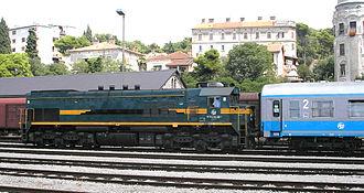 EMD G26 - Image: 2062 series locomotive (014)