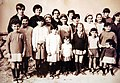 206 Museu d'Història de Catalunya, foto de grup, classe de les nenes.JPG