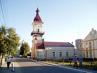 Rava-Ruska City in Lviv Oblast, Ukraine