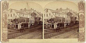 Old Corner Bookstore - Corner Bookstore building, 19th century